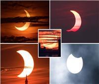 نصف الكرة الشمالي شهد ظاهرة «حلقة النار»   صور