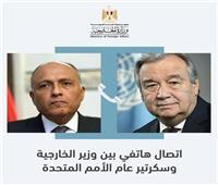 مصر تؤكد للأمم المتحدة رفضها إجراءات إثيوبيا الأحادية لملء سد النهضة