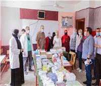 قوافل طبية لخدمة المرضى بمركز زفتى دعما لـ«حياة كريمة»