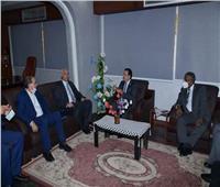 لجنة قطاع العلوم الصيدلية بالأعلى للجامعات تزور جامعة الوادي الجديد