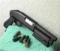 ضبط أحد الأشخاص بحوزته بندقية خرطوش بحلوان