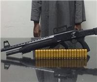 حبس تاجر ضبط بحوزته بندقية خرطوش بحلوان بقصد التباهي