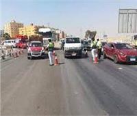 «أكمنة المرور» تحرر 2476 مخالفة على الطرق السريعة