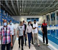 وزير الشباب والرياضة يتفقد المدينة الرياضية بالعاصمة الإدارية