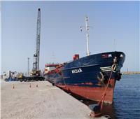 تصدير 3400 طن أسمنت أبيض إلى روسيا عبر ميناء العريش| صور