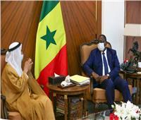 رئيس السنغال يستقبل الجروان في داكار