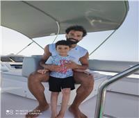 تفاصيل الرحلة البحرية الثالثة لمحمد صلاح بالغردقة| صور