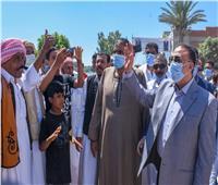 تنفيذًا لوعد الرئيس: محافظ الإسكندرية يفتتح  مشروع تطوير قرية «الأحرار»