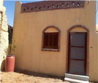 قرية حررها الرئيس.. ترميم ٤٠ منزلاً وتوصيل المياه وبطاطين لأهالى «باب الأحرار»