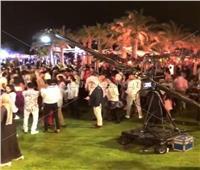 وداعًا للكمامات في حفل زفاف محمد فراج وبسنت