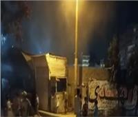 السيطرة على حريق في مخزن شركة مياه الشرب بالمحلة