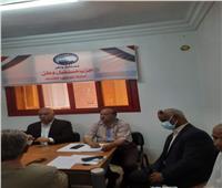 مناقشة خطة العمل السياسي والخدمات الجماهيرية لأبناء الوادي الجديد