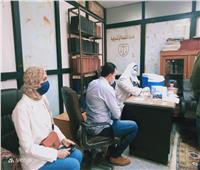 صحة المنوفية: تطعيم أعضاء الجمعية العمومية لنادي القضاة بلقاح كورونا