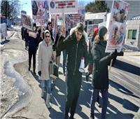 مسيرة حاشدة لتكريم عائلة مسلمة «دهسهم» شاب متطرف بكندا