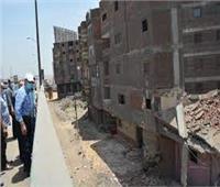 إزالة المباني المتعارضة مع المشروع القومي لتوسعة الطريق الدائري بالقليوبية