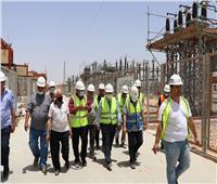 «السادات» يتفقدون محطة محولات كهرباء بقدرة 525 ميجا فولت