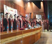 نقابة الأطباء تحتفل بتخريج الدفعة الخامسة بجامعة أسوان