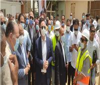 وزير التنمية المحلية ومحافظ بني سويف يتفقدان مشروعات ضمن «حياة كريمة»