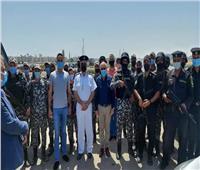 محافظ بورسعيد يشيد بجهود أبطال «كمين محور 30يونيه» لتصديهم للمهربين