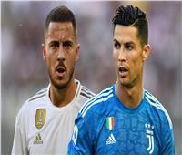 هازارد عن مقارنته برونالدو: نحن مختلفان.. وكريستيانو يسجل 70 هدفا بالعام