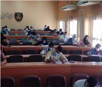 انتظام سير أعمال الامتحانات بجامعة مطروح للأسبوع الثاني