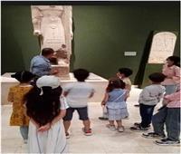 صور| متحف سوهاج يستقبل الزوار وسط إجراءات احترازية