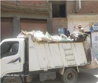 متابعة أعمال النظافة ورفع الإشغالات بقرى منوف