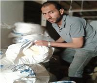 ضبط طن قشطة معبأة في أجولة مجهولة المصدربثلاجة لحفظ الألبان بالدقهلية