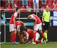 فيديووصور | شاهد سقوط إييركسن بشكل مفاجئ خلال مباراة الدنمارك وفنلندا