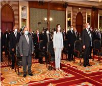 «السعيد» تشارك في الجلسة الافتتاحية لاجتماع رؤساء المحاكم الدستورية