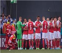 الدنمارك وفنلندا | اجتماع طارئ مع الحكام بشأن استئناف المباراة