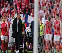 رسميًا  بعد استقرار حالة إريكسين.. استئناف مباراة الدنمارك وفنلندا