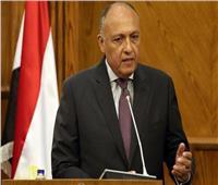 وزير الخارجية يوجه رسالة «مصرية» لكل الأطراف في ليبيا