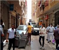 انطلاق حملة إشغالات ونظافة في حي العجوزة بالجيزة