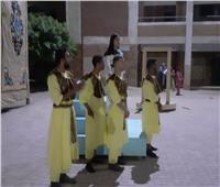 عروسة القمح.. عرض مسرحي لفرقة سمالوط المسرحية