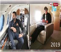 رد محمد كريم عن تقليد محمد رمضان له في صورة الطائرة الخاصة