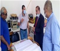 «تعليم مطروح» يتابع لجنه النظام والمراقبه تمهيدا لإعلان الشهادة الإعدادية