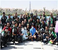 وزير الشباب يتقدم ماراثون رياضي بالعاصمة الإدارية ضمن «منحة عبدالناصر»