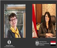 المشاط تبحث مع رئيس البنك الأوروبي سبل التعاون ودعم التنمية