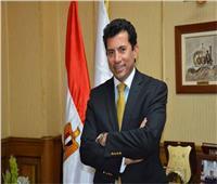 وزير الرياضة يطمئن على بعثة الأهلي بعد أحداث استاد رادس