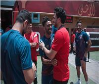 «تريزيجيه» يحضر تدريبات فريق الكرة.. و«عبدالحفيظ» يطمئن على برنامجه العلاجي|صور