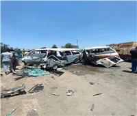 إصابة 18 شخصًا في حادث تصادم بدمياط