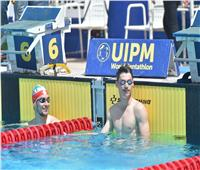 بنهائي الخماسي الحديث.. جوستيناو يتصدر السباحة والجندي في المركز الخامس