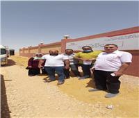 استعدادا لبناء أول مدرسة بمشروع الـ ١.٥ مليون فدان.. مطروح تتسلم قطعة أرض بالمغرة |صور