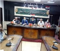 رئيس مدينة أشمون يستقبل مدير جهاز تنمية المشروعات لدعم «حياة كريمة»