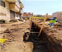 إنجازات «حياة كريمة» بقطاع المياه والصرف الصحي في قرى أشمون| صور