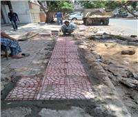 تطوير ونظافة شوارع العجوزة في الجيزة | صور