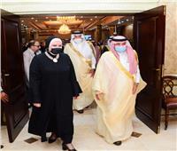 جامع تستقبل وزير التجارة السعودي استعدادا للجنة التجارية المشتركة