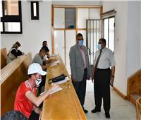 ١٤٣٨٣ طالب وطالبة يؤدون الامتحانات بجامعة القناة اليوم