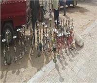 غلق 3 مقاهي ومصادرة 25 شيشة بـ«مركز قطور»